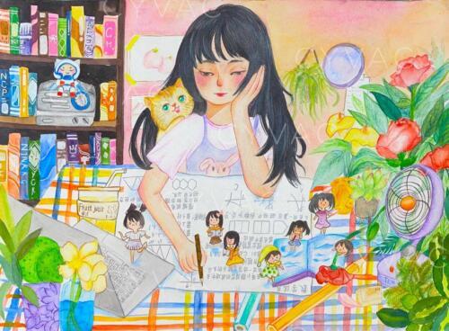 王梓茜 Ziqian Wang – Age 11 – China – Not Available